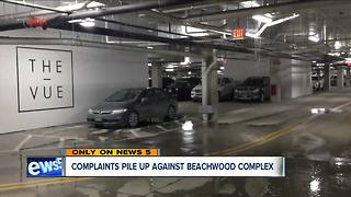 Woman frustrated with Beachwood apartment after flooding damages apartment - Video