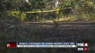 Missing woman search Charlotte County Continues
