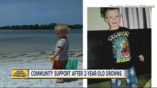 Palm Harbor mother thanks community for support after son's tragic drowning death - Video
