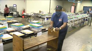 Behind-the-scenes look inside Milwaukee absentee ballot warehouse before Election Day