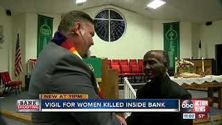 Vigil for women killed inside Sebring bank