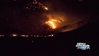 Fast-moving Knob Hill fire now covering 2000 acres, evacuations underway - Video