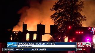 Crews respond to fire near 180th and F - Video