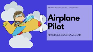 Piano Adventures Lesson Book B - Airplane Pilot