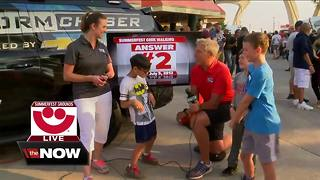Geeking Out: Hottest day at Summerfest - Video