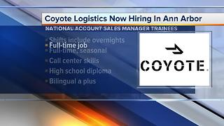 Coyote Logistics is hiring in Ann Arbor - Video