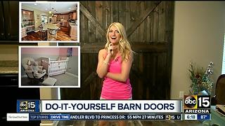 Save money with do-it-yourself barn doors - Video