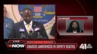 Man charged in Wyandotte County deputies' deaths - Video