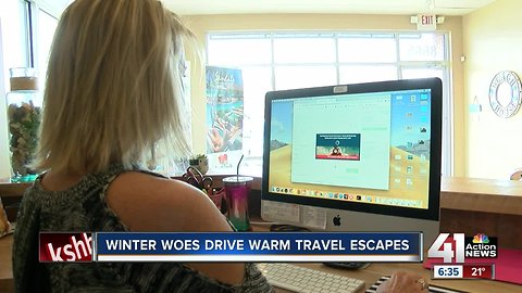 Spring fever: Travel agent sees spike in clients looking to escape Kansas City's winter