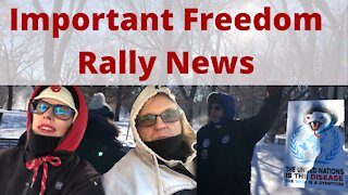 Episode 44- Important Freedom Rally News