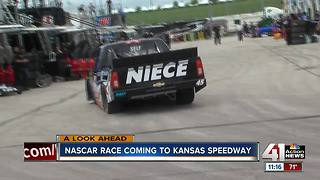 NASCAR taking to the track next weekend - Video