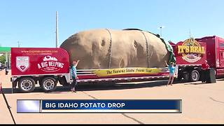 New traveling Idaho potato unveiled - Video