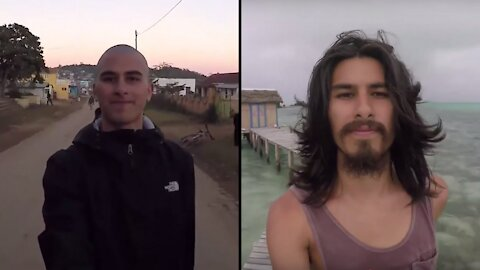 Man documents growing his hair out for two whole years