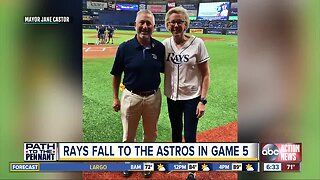 Rays fall to the Astros in game 5