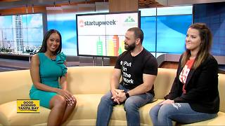 Entrepreneurs rally for Startup Week Tampa Bay - Video