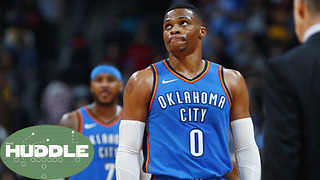 Are Russell Westbrook, Carmelo Anthony & Paul George in Panic Mode?  The Huddle - Video
