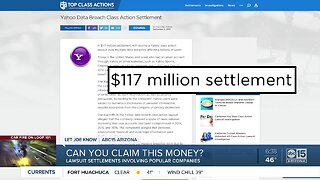 Lawsuit settlements from popular companies