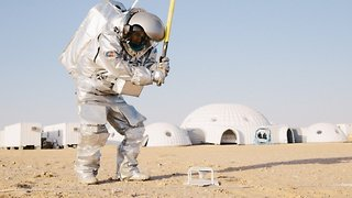 Drone Footage Shows Mars Simulation Mission in Remote Oman Desert - Video
