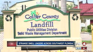 Strange Smell Lingers Across Southwest Florida - Video
