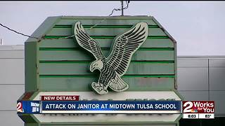 Janitor attacked at Edison by students - Video