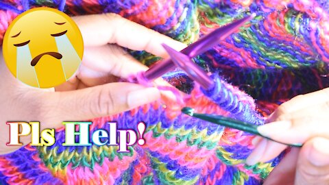 How to Pick Up a Dropped Stitch in Knitting