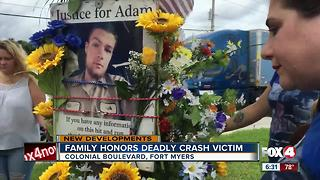 Hit-and-run victim honored 1 yr. later, suspect in court - Video