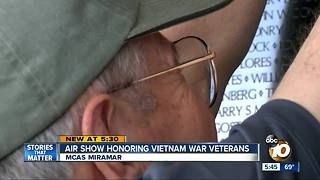 Miramar Air Show honoring Vietnam War veterans - Video