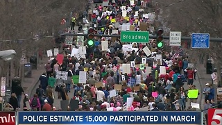 Thousands March For Women's Rights In Nashville - Video