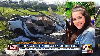 Teen driver admits guilt in fatal prom night crash