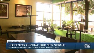 Reopening Arizona restaurants: Our new normal