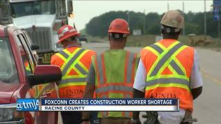 Foxconn construction affects infrastructure projects in North Wisconsin