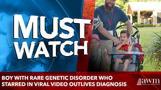 Boy with rare genetic disorder who starred in viral video outlives diagnosis - Video