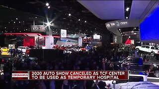 2020 Auto Show canceled as TCF Center will be used as temporary hospital