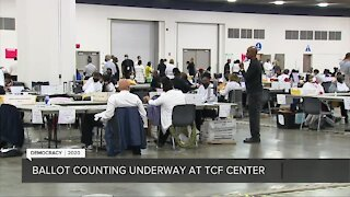 Ballot counting underway in Detroit