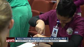 Summer program offers road map to medical school for Bay Area children - Video