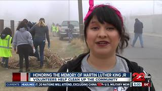 Community members honor MLK with service project - Video