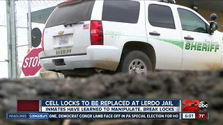 448 cell door locks to be replaced at Lerdo Jail - Video