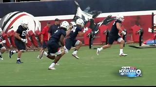 Day 1 of Arizona Fall Camp - Video