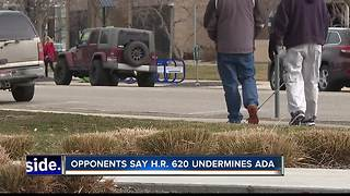 Proposed legislation would restructure ADA enforcement - Video
