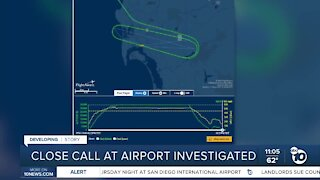 Close call at airport investigated