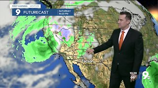 Cooler weather eventually arrives