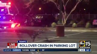 Police: Driver purposely collided with another at Tempe Marketplace, fled scene - Video