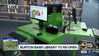 Downtown Phoenix library reopening! - Video