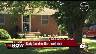 Body found on the northeast side of Indianapolis - Video