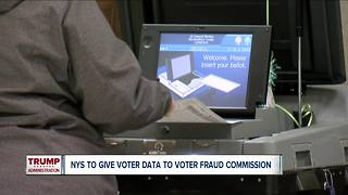 NY will give some voter data to Trump voter fraud commission - Video