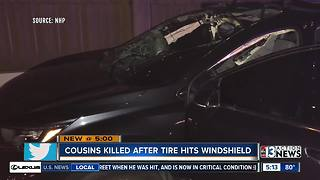 Family of woman, teen killed after tire hits windshield speaksout - Video