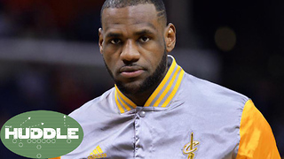 Is LeBron James RUINING His Own Legacy? -The Huddle - Video