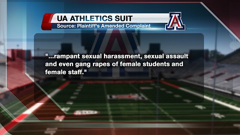 Gang rape claimed in suit against UA