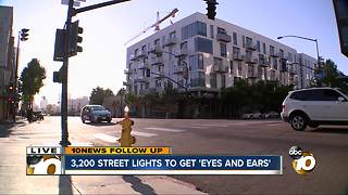 3,200 street lights to get 'eyes and ears'