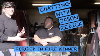 INTERVIEW WITH JASON REDDICK - FORGED IN FIRE WINNER